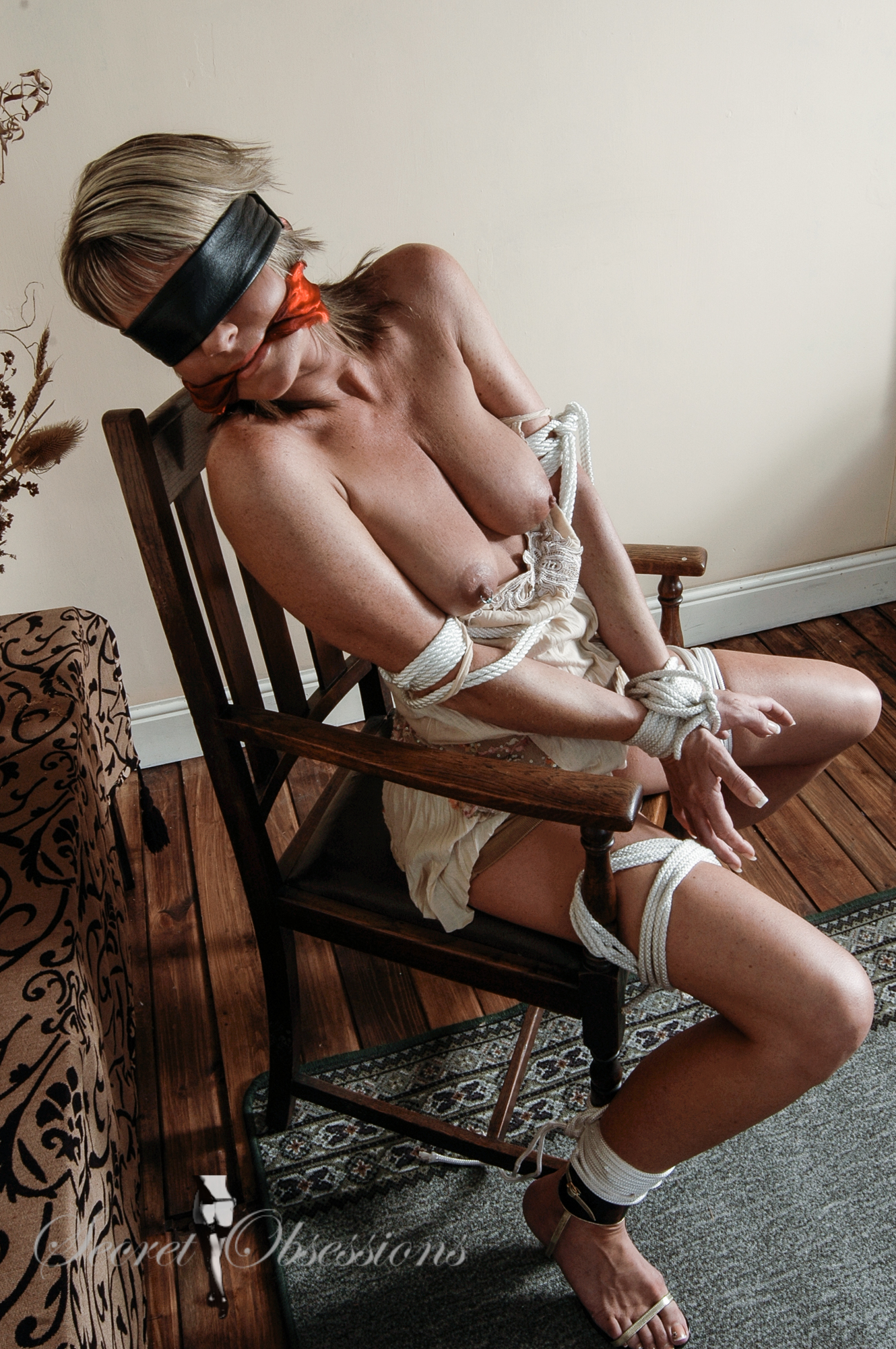Bound and gagged