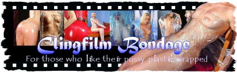 Clingfilm Bondage Plastic fetish photos